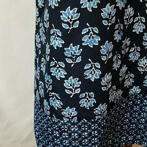 Michael Kors Tops - MICHAEL KORS Blue & white floral dressy tank top